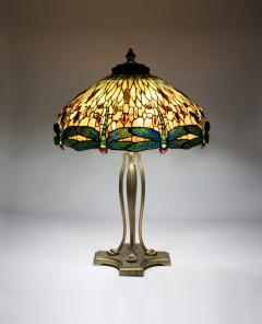 Tiffany Studios Drophead Dragonfly Table Lamp - 20859