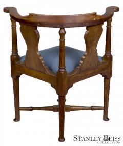 An Early Queen Anne Walnut Corner Chair Massachusetts c 1750 - 21765