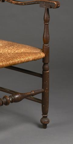 Turned Armchair circa 1760 Delaware River Valley - 23068