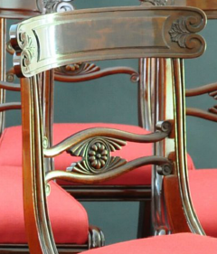 A Set of Nine Classical Chairs c 1820 - 23198