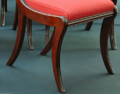 A Set of Nine Classical Chairs c 1820 - 23200