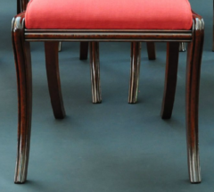 A Set of Nine Classical Chairs c 1820 - 23201