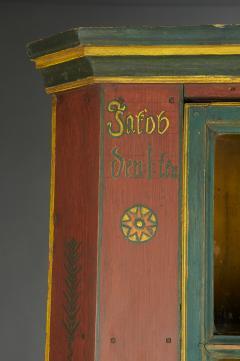 Orwig Family Corner Cupboard dated 1861 - 23375