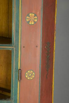 Orwig Family Corner Cupboard dated 1861 - 23378