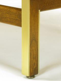 American of Martinsville Mahogany Dresser with Recessed Elliptical Pulls c 1960s - 23566