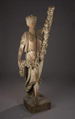 Carved Figure of Spring from the Four Seasons New York circa 1875 1890 - 23800