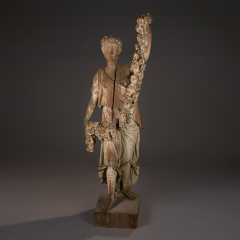 Carved Figure of Spring from the Four Seasons New York circa 1875 1890 - 23887