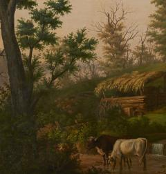 Edward Sachse Missouri Rustic Scene by Edward Sachse 1804 1873 circa 1865 - 23901
