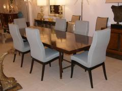 Harvey Probber Rosewood and Brass Dining Table by Harvey Probber 1960s - 30238