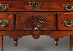 Queen Anne Lowboy with a Carved Fan Drawer - 30483