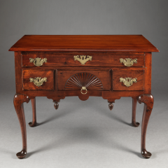 Queen Anne Lowboy with a Carved Fan Drawer - 30653