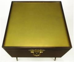 Bert England Orientation Group Walnut and Brass Bar Cabinet for John Widdicomb c 1960s - 31152