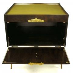 Bert England Orientation Group Walnut and Brass Bar Cabinet for John Widdicomb c 1960s - 31154