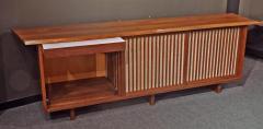 George Nakashima Triple Sliding Door Cabinet 1960 - 7034