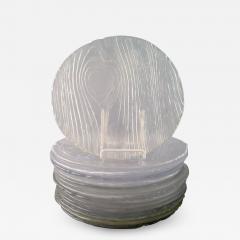 15 Finnish art glass plates - 1331788