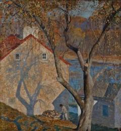 Daniel Garber Paintings Art & Romantic Realism Works | Incollect