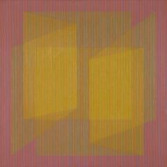 Julian Stanczak paintings