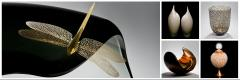 The Authority on contemporary glassart, ceramics and decorative arts.