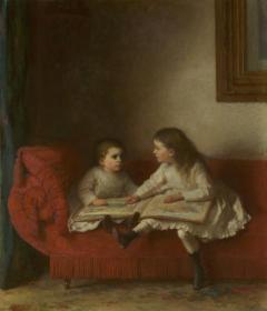 Eastman Johnson Paintings & Art | Incollect