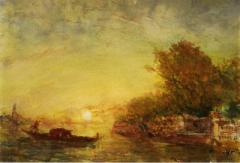 Félix Ziem Paintings Art | Incollect