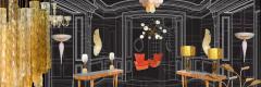 Mid Century Modern European Designers' Lighting & Decor
