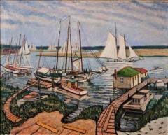 Richard Hayley Lever paintings