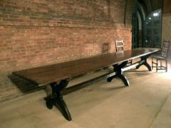 16ft long 17th century French Trestle Table - 622645