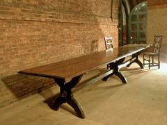 16ft long 17th century French Trestle Table - 622646