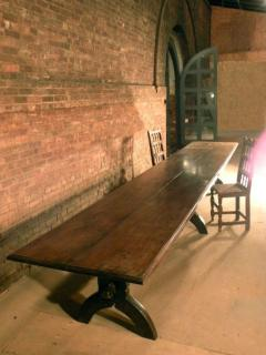 16ft long 17th century French Trestle Table - 622647