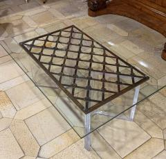 16th Century Iron Grill Coffee Table - 879590
