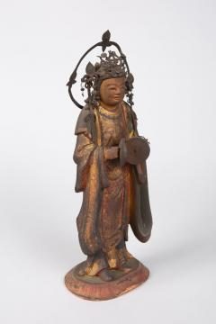 16th Century Japanese Sculpture of a Buddhist Tenbu - 1428211