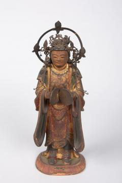 16th Century Japanese Sculpture of a Buddhist Tenbu - 1428212