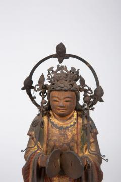 16th Century Japanese Sculpture of a Buddhist Tenbu - 1428222