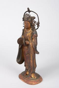 16th Century Japanese Sculpture of a Buddhist Tenbu - 1428224
