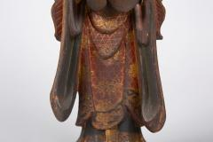 16th Century Japanese Sculpture of a Buddhist Tenbu - 1428227
