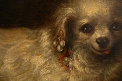 17TH CENTURY PAINTING OF A SMALL WHITE DOG - 1271842