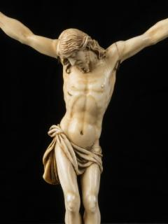 17th C Baroque Flemish School Religious Very Finely Carved Crucified Christ - 1998813