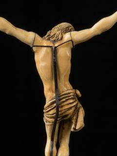 17th C Baroque Flemish School Religious Very Finely Carved Crucified Christ - 1998814