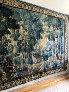 17th Century Flemish Verdure Tapestry - 2062196