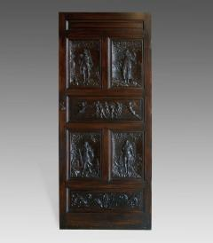 17th Century Walnut Panels Incorporated Into A Door - 63521