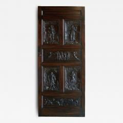 17th Century Walnut Panels Incorporated Into A Door - 68068
