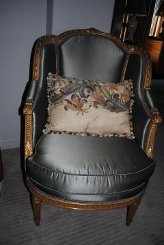 17th c Italian Baroque Embroidered Pillow - 1066476
