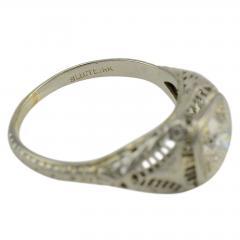 18 Karat White Gold 0 80 Carat Diamond Ring Size 7 75 - 1978262