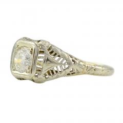 18 Karat White Gold 0 80 Carat Diamond Ring Size 7 75 - 1978263