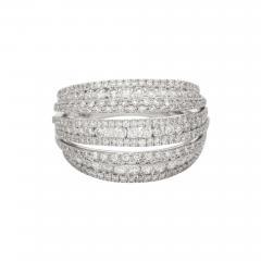 18 Karat White Gold and Brilliant Diamond Ring 1 95 Carat - 1045096