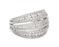 18 Karat White Gold and Brilliant Diamond Ring 1 95 Carat - 964220