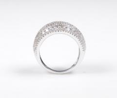 18 Karat White Gold and Brilliant Diamond Ring 1 95 Carat - 964223
