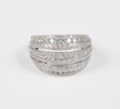 18 Karat White Gold and Brilliant Diamond Ring 1 95 Carat - 964233