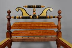 1830 PAINT DECORATED BEDSTEAD - 1338051