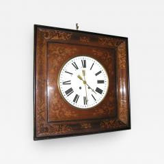 1830s French Charles X Inlaid Wall Clock - 353511